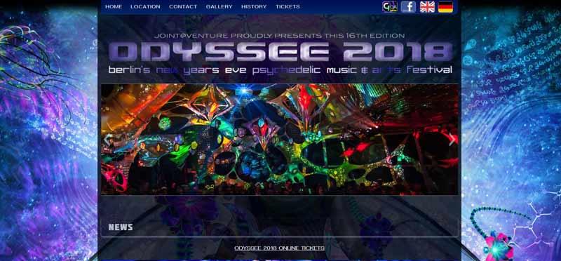 Homepage-Diskothek