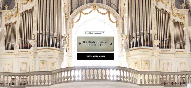 homepagedesign-orgelverzeichnis
