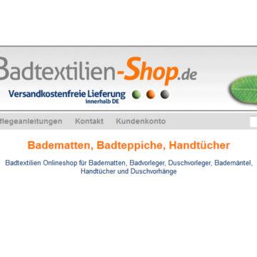 Banner Onlineshop Badartikel