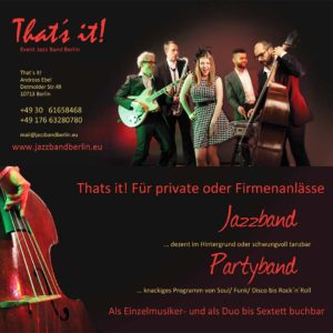 Flyer - Musiker, Band